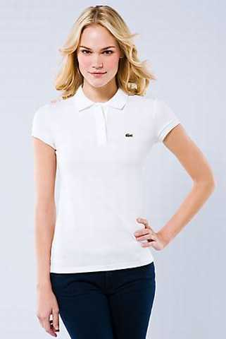 polo lacoste femme soldes,polo femme manches courtes blanc